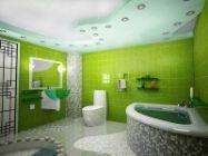 Picture of Стиль і колір у дизайні сучасної ванної кімнати