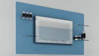 Зображення Дзеркало Elvia 90*70, J-Mirror, led-підсвітка холодна  біла