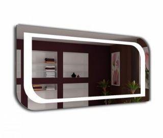 Зображення Дзеркало Enrica 90*70, J-Mirror, led-підсвітка нейтральна  біла з контурною підсвіткою