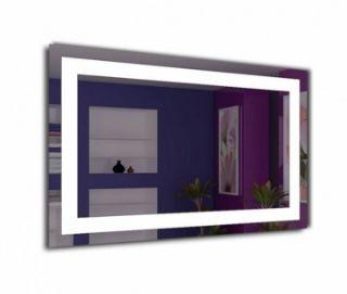 Зображення Дзеркало Elena 90*70, J-Mirror, led-підсвітка нейтральна біла з кнопкою