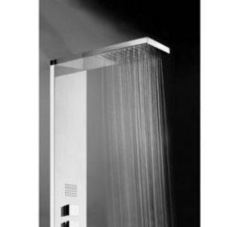 Зображення Manhattan L00897000030008 Душова стійка з термостатом на 4 режими, хром Bossini