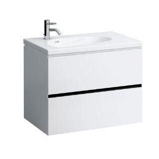 Изображение Шкафчик с 2 ящиками, подходит к раковине 814804, без розетки Palomba Laufen H407202220