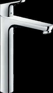Зображення Смеситель для умывальника 31531000 Hansgrohe Focus 230 с донным клапаном, хром