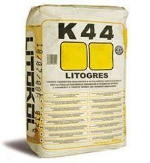 Зображення Клей Litokol LITOGRES K44  на цементній основі, високоеластичний 25 кг (сірий)