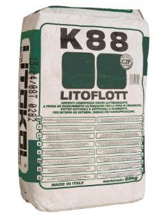 Зображення Клей Litokol Litoflott K88 (K880020) на цементній основі, 20 кг (сірий)