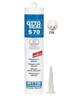 Зображення Герметик силіконовий Litokol OTTOSEAL S70 С38 (8NTRGRL0201), 310 мл (світло-сірий)