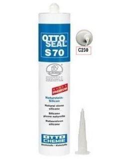 Зображення Герметик силіконовий Litokol OTTOSEAL S70 С230 (8NTRGNB0201), 310 мл (сірий туман)