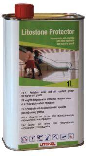 Изображение Средство Litokol Litostone Protector (LTSPRT0121) для защиты мрамора и гранита от загрязнения, 1 л
