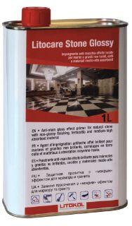 Изображение Защитная пропитка Litokol Litocare Stone Glossy (LTCSTG0121), с «мокрым» эффектом, для мрамора и гранита, 1 л