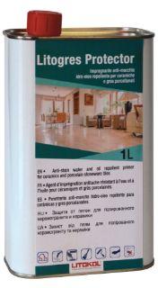 Изображение Средство Litokol Litogres Protector (LTGPRT0121), защита от пятен для керамики, 1 л