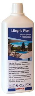 Изображение Противоскользящие средство для плитки Litokol Litogrip Floor (LTGFLR0121), 1 л