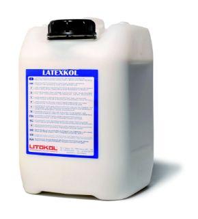 Изображение Добавка Litokol LATEXKOL (LTX0010), для цементных клеев, вододисперсионная, 10 кг