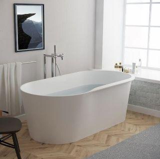 Изображение Ванна из искусственного камня Roca Raina 160x80 см, белый (A248466000)