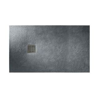 Зображення Душовий піддон ROCA Terran, 120х90, графіт (AP014B038401200)