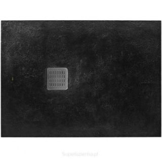Зображення Душовий піддон, ROCA Terran, 90х120, чорний (AP014B038401400)