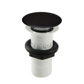 Зображення Донний клапан для раковини, ArtCeram, чорний матовий (ACA038 17; 00)