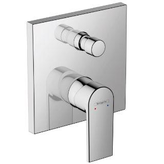 Зображення Змішувач для ванни / душа Hansgrohe Vernis Shape прихованого монтажу, Chrome (71468000)